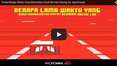 video Perbandingan Waktu Untuk Bermain Racing Car
