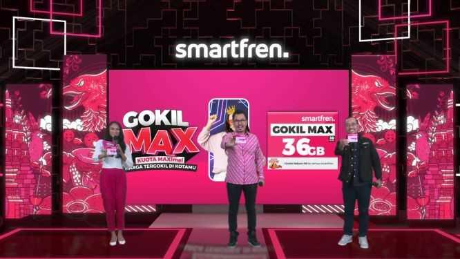 Pakai Smartfren GOKIL MAX Terbaru, Nikmati Kuota Data Terbesar dan Harga Paling Gokil di Indonesia