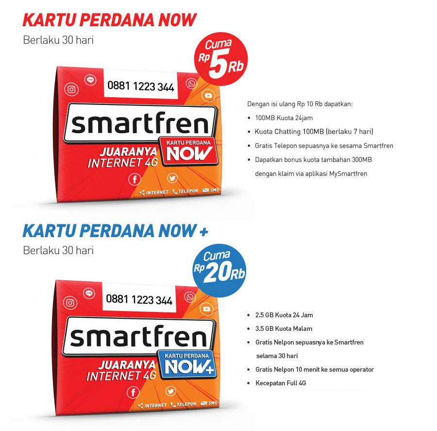 Kartu Perdana Now 3 Kuota 6gb Kenalin Nih Smartfren Yang Memberimu Paket Internet Dengan Besar Dan Full 4g Dari Dimanapun Kapanpun
