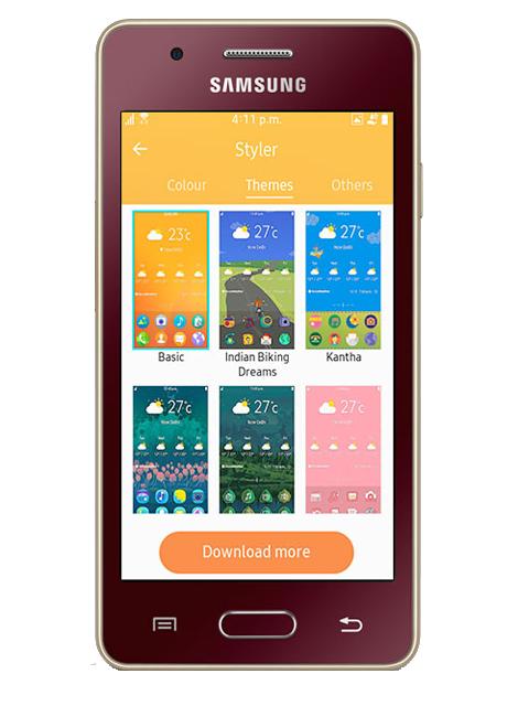 other smartphone - Samsung Tizen Z2
